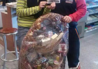Ganador del sorteo de la cesta de navidad del 2013